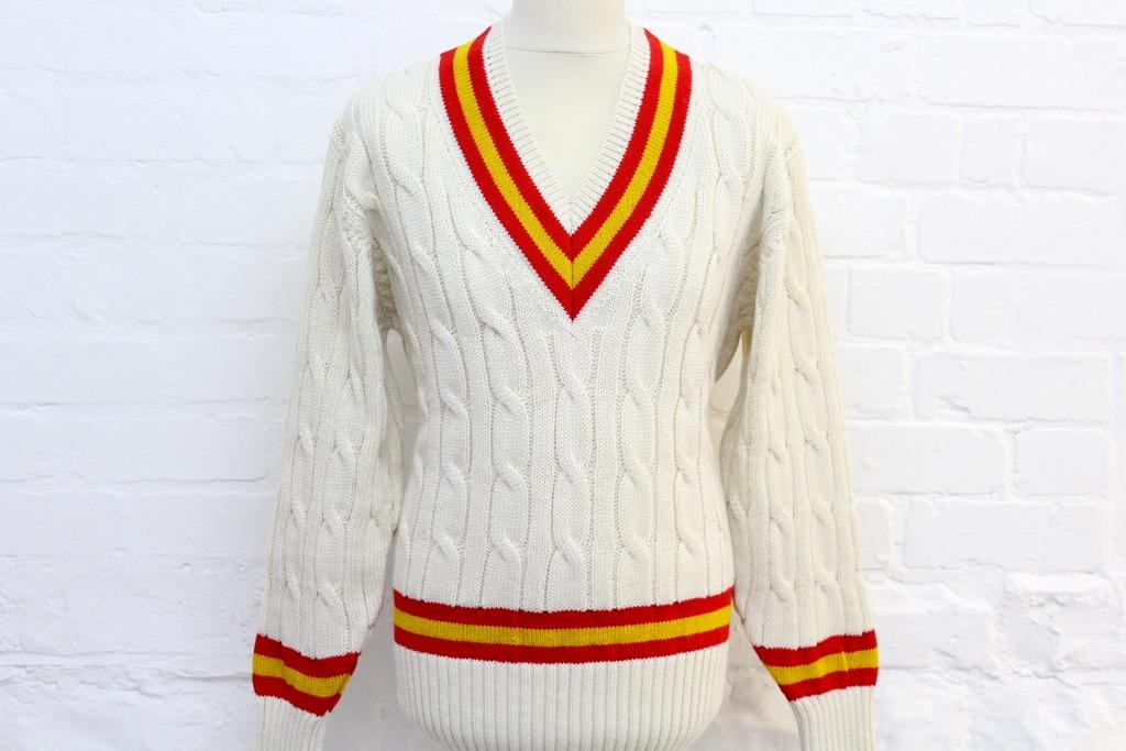 Model: R003 MCC-Cricket-Sweater